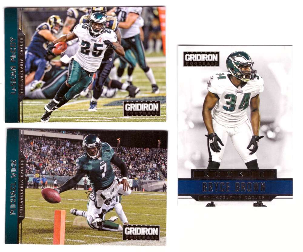 2012 Gridiron (1-300) Football Team Set - PHILADELPHIA EAGLES