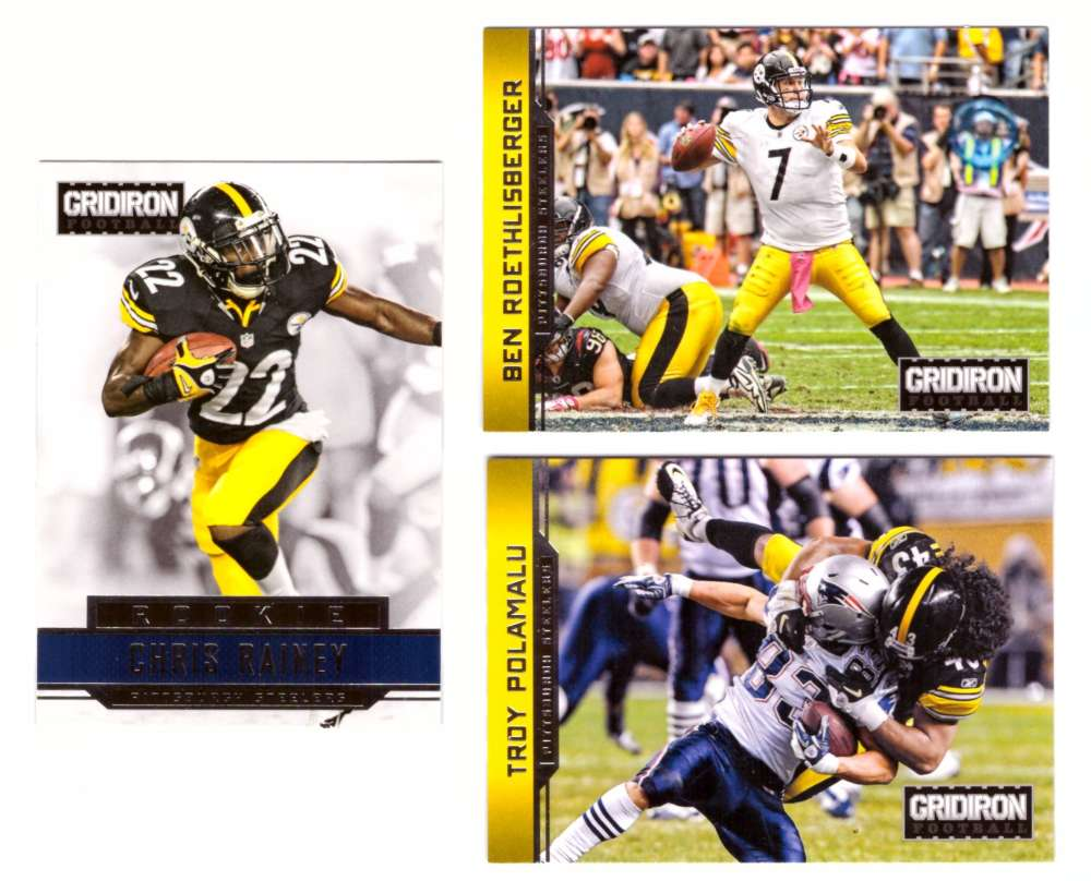 2012 Gridiron (1-300) Football Team Set - PITTSBURGH STEELERS
