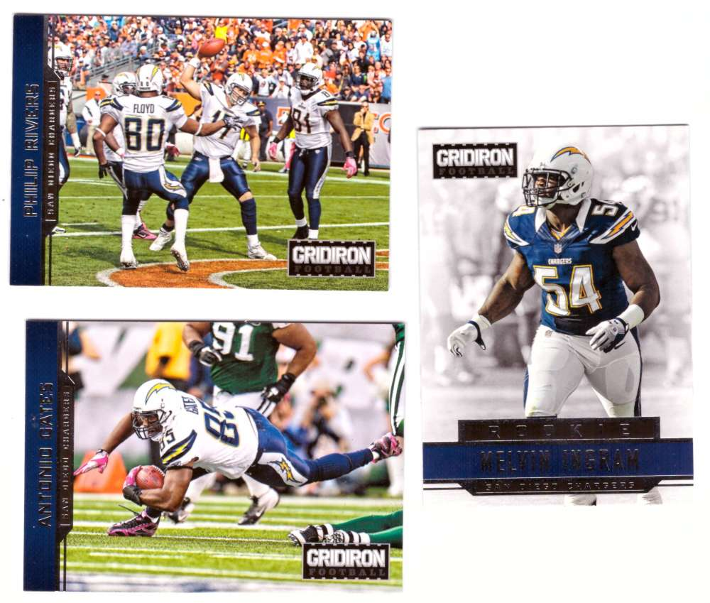 2012 Gridiron (1-300) Football Team Set - SAN DIEGO CHARGERS
