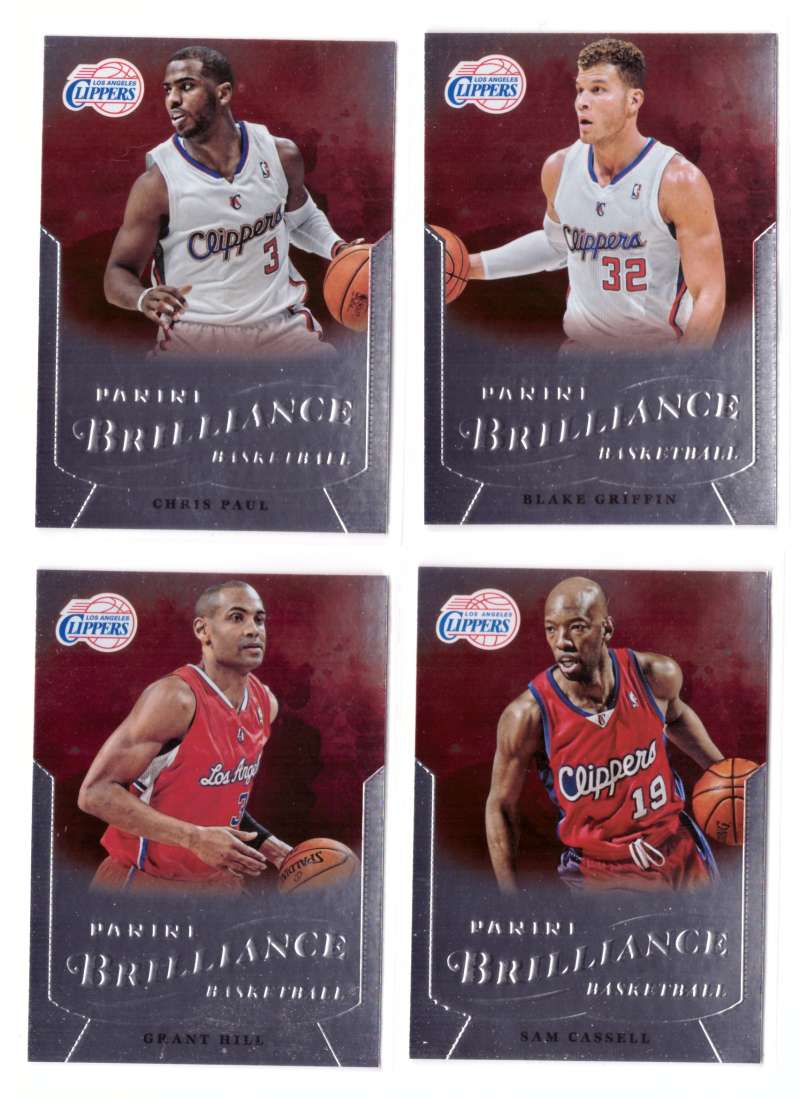 2012-13 Panini Brilliance Basketball Team Set - Los Angeles Clippers