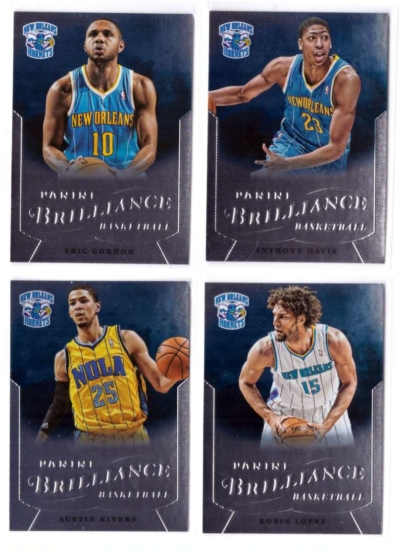 2012-13 Panini Brilliance Basketball Team Set - New Orleans Hornets