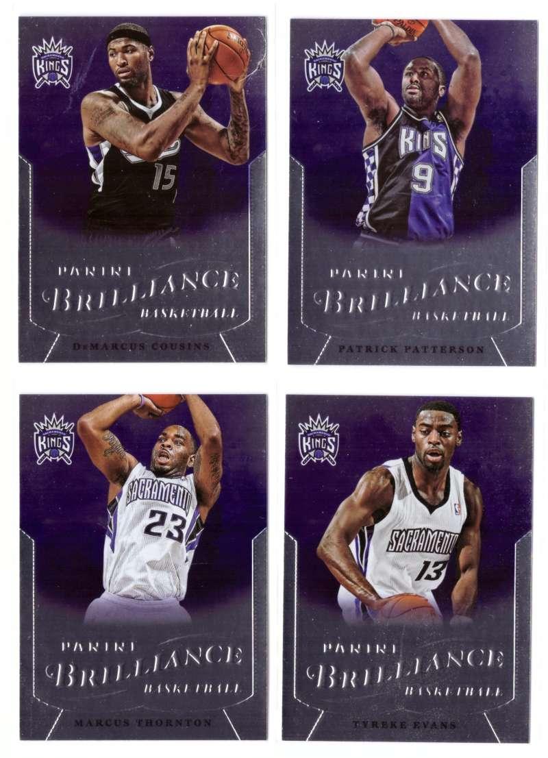 2012-13 Panini Brilliance Basketball Team Set - Sacramento Kings