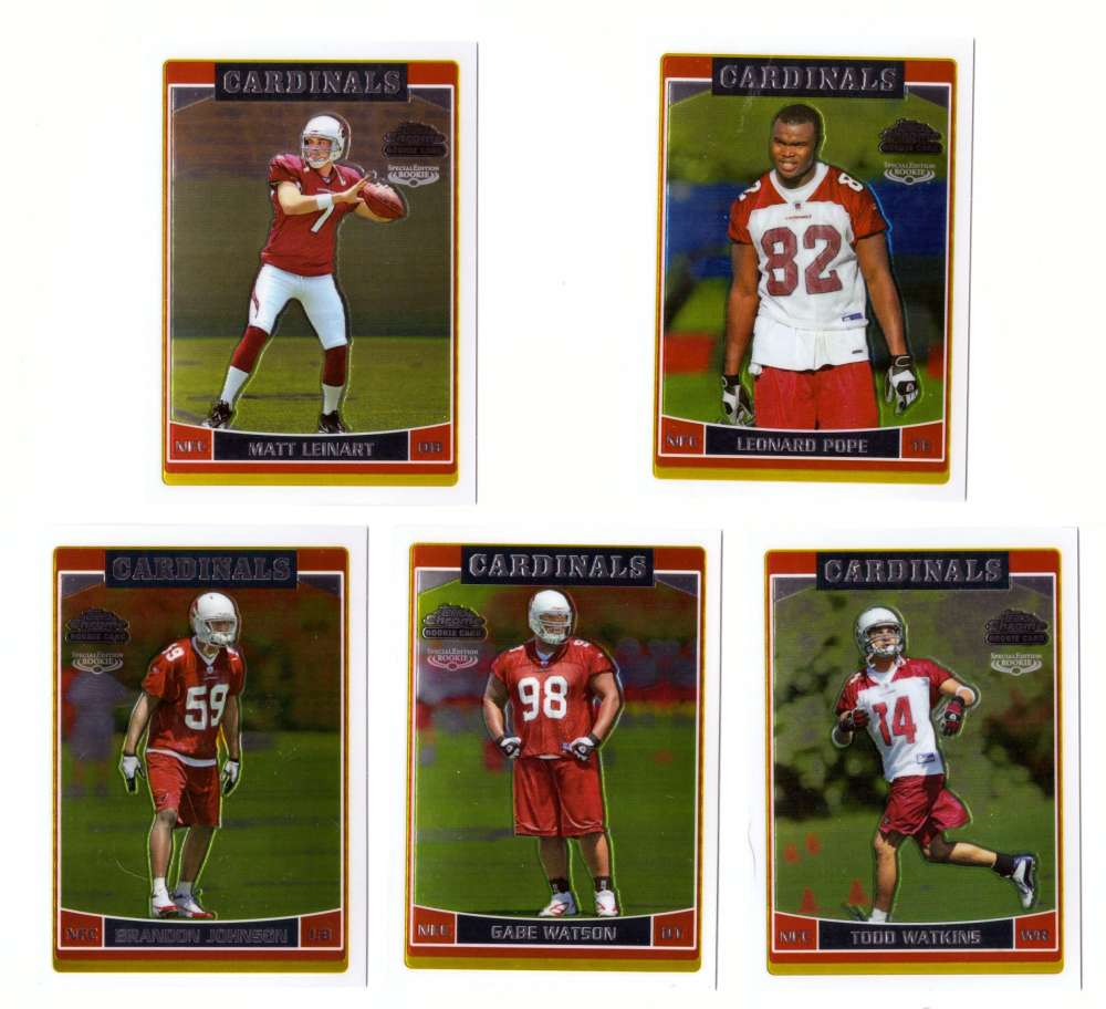 2006 Topps Chrome Special Edition Rookies Football - ARIZONA CARDINALS