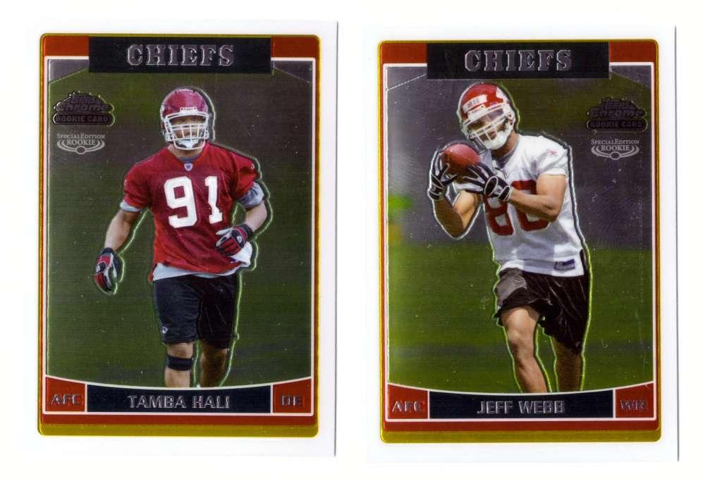 2006 Topps Chrome Special Edition Rookies Football - KANSAS CITY CHIEFS