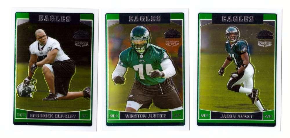 2006 Topps Chrome Special Edition Rookies Football - PHILADELPHIA EAGLES