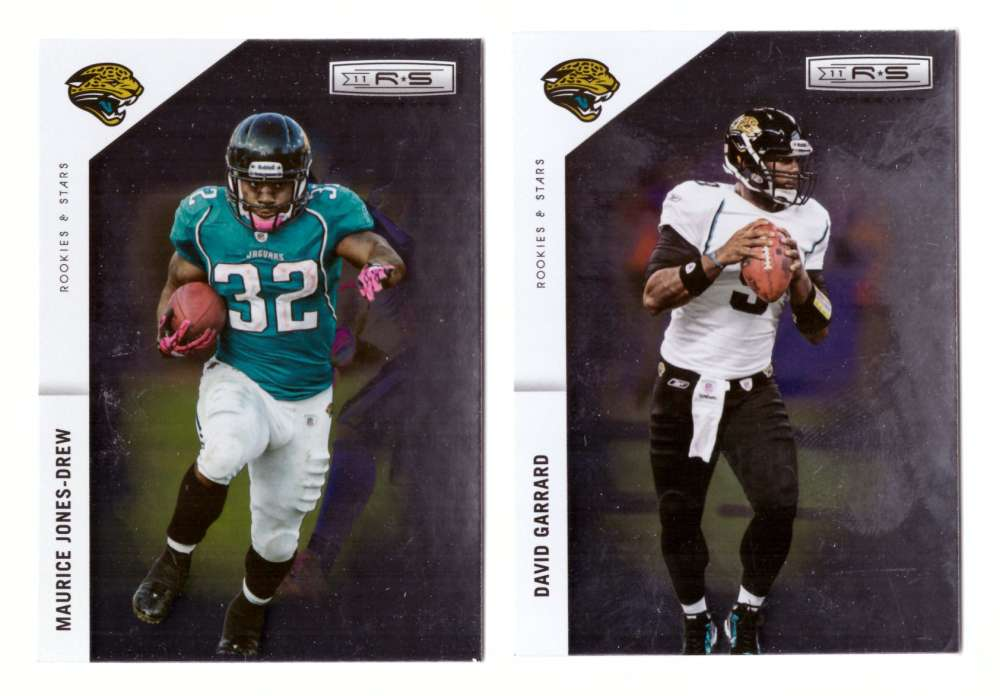2011 Rookies and Stars Longevity Football Team Set - JACKSONVILLE JAGUARS