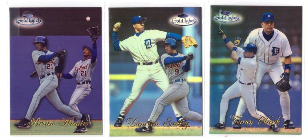 1998 Topps Gold Label BLACK Class 1 - DETROIT TIGERS