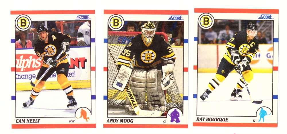1990-91 Score Hockey Team Set - Boston Bruins