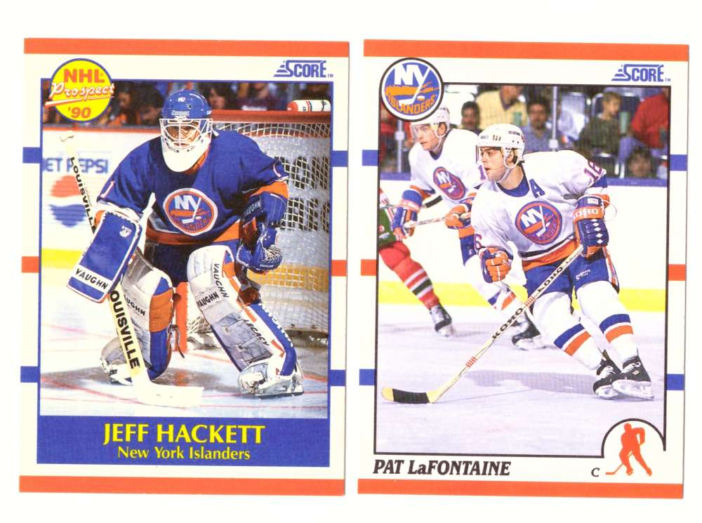 1990-91 Score Hockey Team Set - New York Islanders