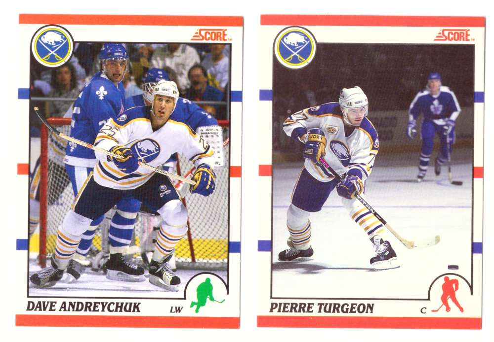 1990-91 Score Canadian Hockey Team Set - Buffalo Sabres