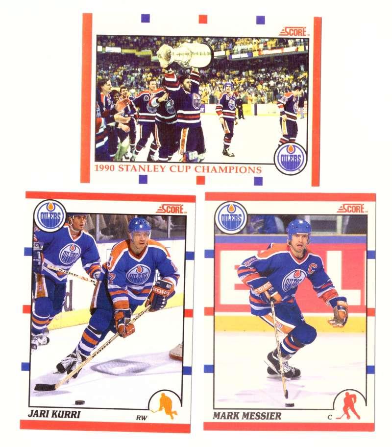 1990-91 Score Canadian Hockey Team Set - Edmonton Oilers