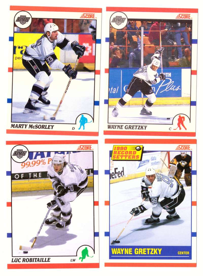 1990-91 Score Canadian Hockey Team Set - Los Angeles Kings