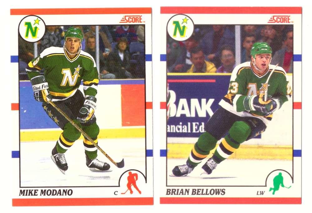 1990-91 Score Canadian Hockey Team Set - Minnesota North Stars
