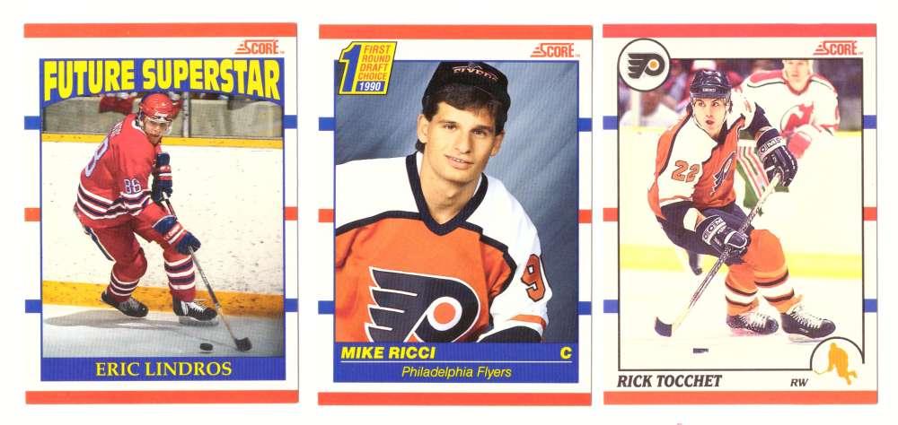 1990-91 Score Canadian Hockey Team Set - Philadelphia Flyers