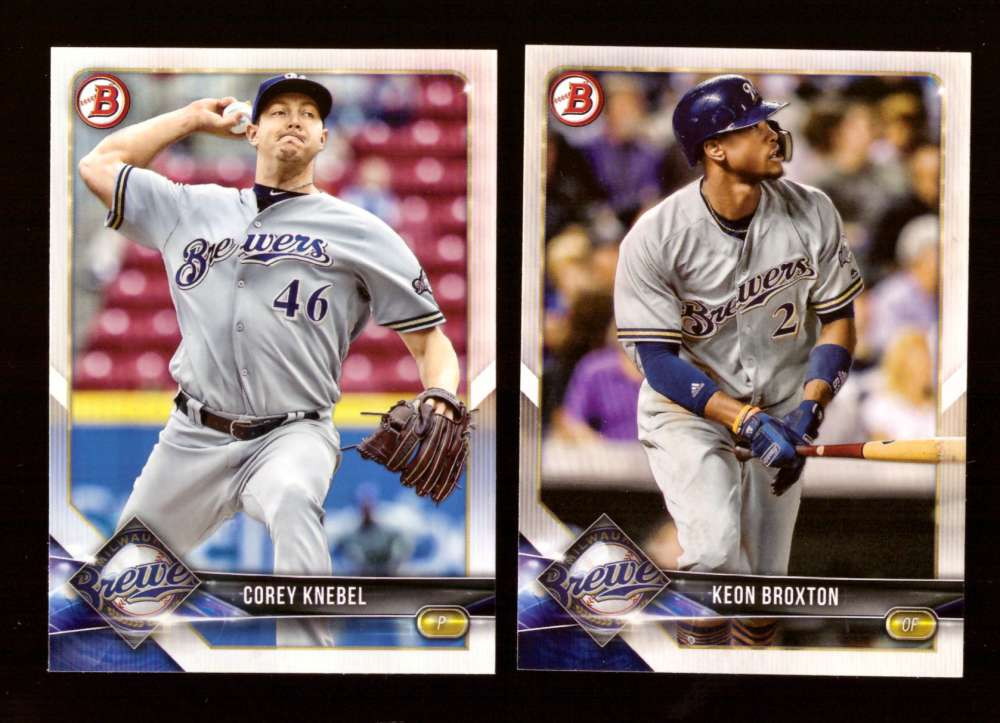 2018 Bowman - MILWAUKEE BREWERS