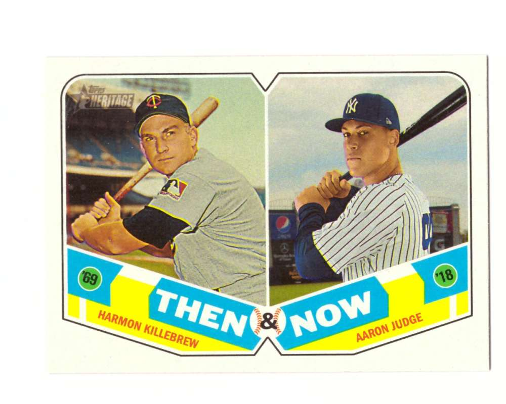 2018 Topps Heritage Then and Now - NEW YORK YANKEES