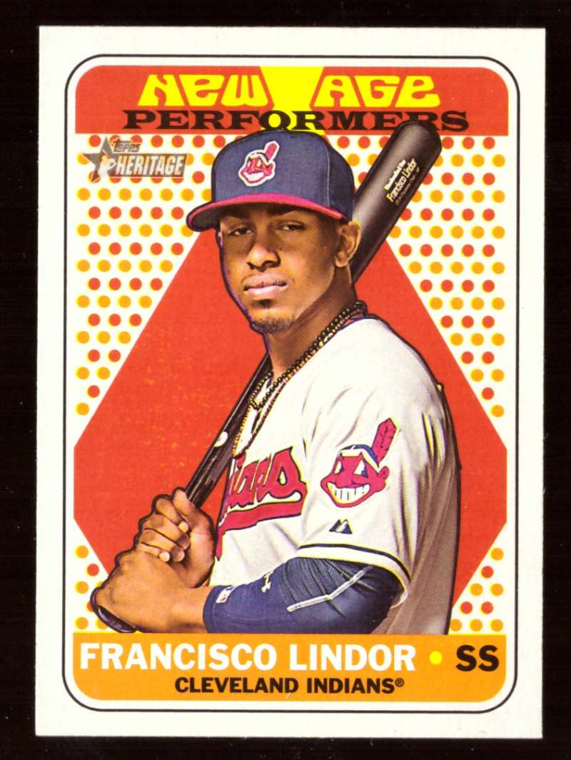2018 Topps Heritage New Age Performers - CLEVELAND INDIANS