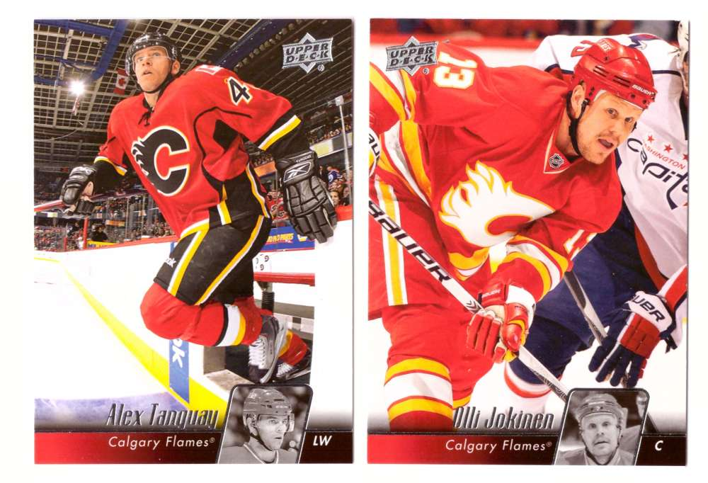 2010-11 Upper Deck (Base) Hockey Team Set - Calgary Flames