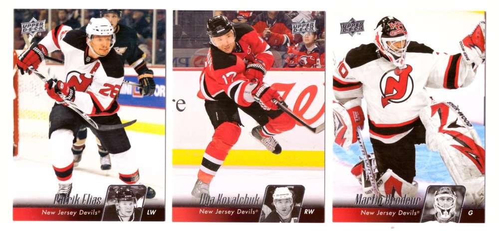 2010-11 Upper Deck (Base) Hockey Team Set - New Jersey Devils