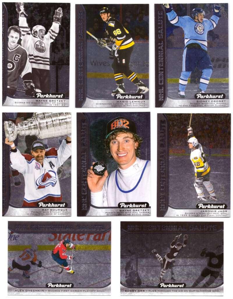 2016-17 Parkhurst NHL Centennial Salute 24 card set
