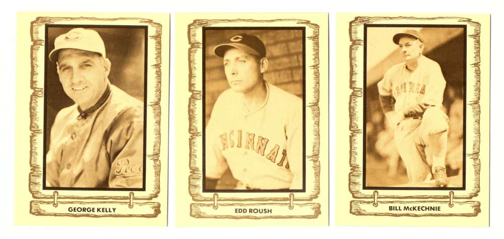 1982 Cramer Baseball Legends - CINCINNATI REDS Team Set