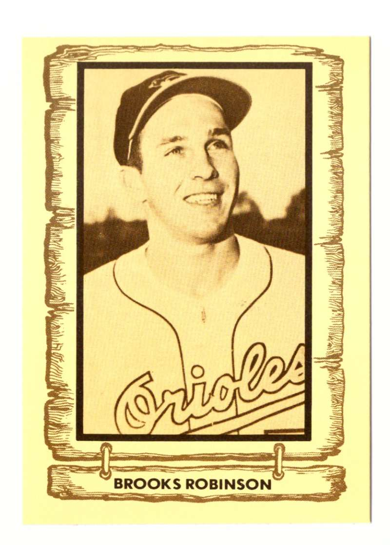 1981 Cramer Baseball Legends - BALTIMORE ORIOLES