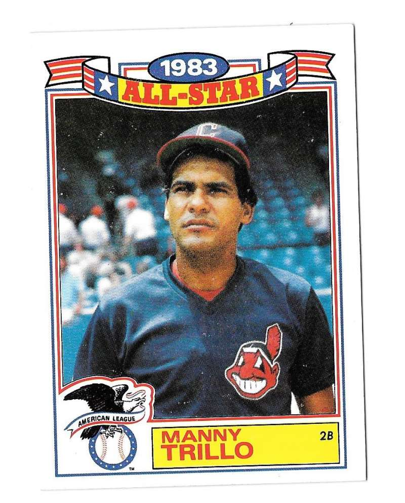 1984 Topps Glossy All-Stars - CLEVELAND INDIANS Team Set