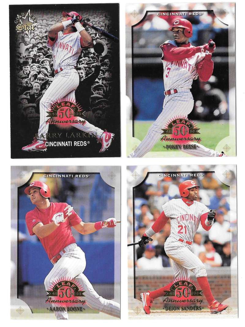 1998 Leaf (1-201) - CINCINNATI REDS Team Set