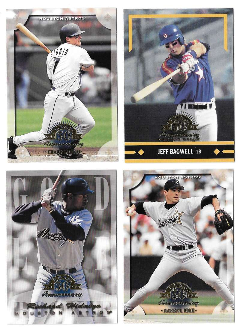 1998 Leaf (1-201) - HOUSTON ASTROS Team Set