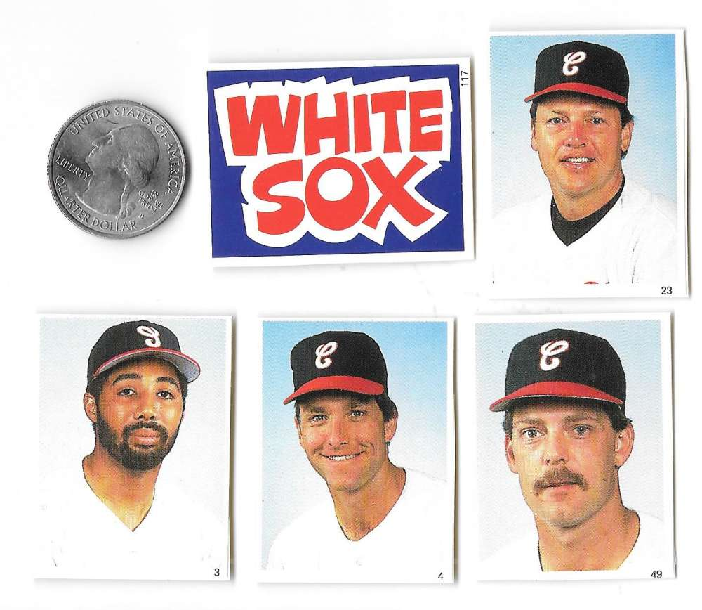 1988 Red Foley - CHICAGO WHITE SOX Team Set