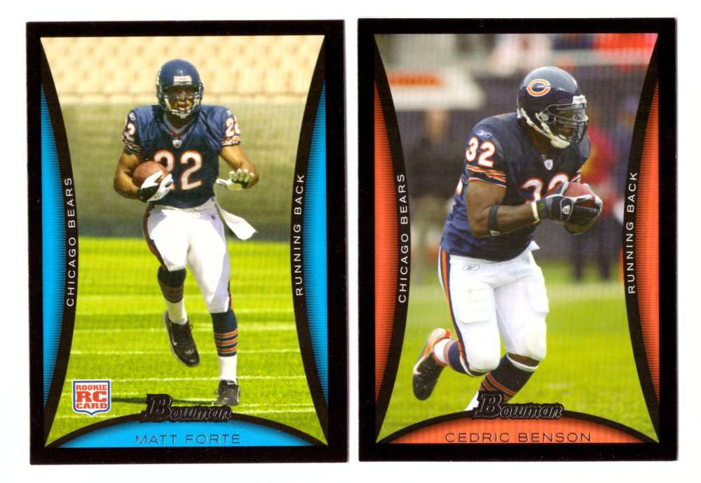 2008 Bowman Football Team Set - CHICAGO BEARS