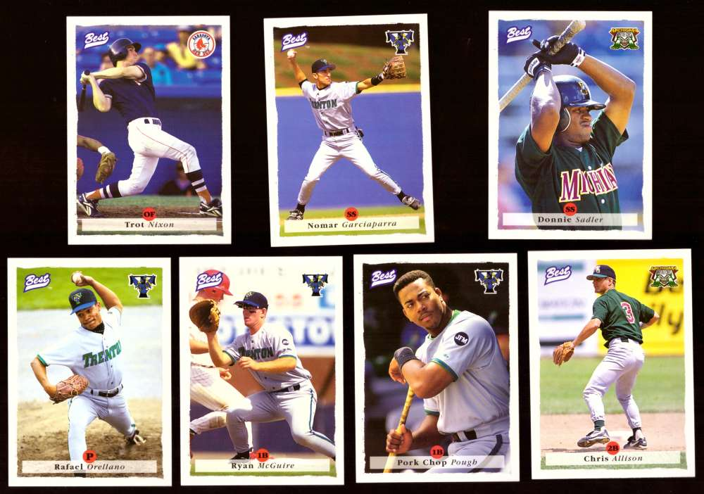 1995 Best Minors 1-100 - BOSTON RED SOX Team Set