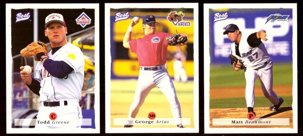 1995 Best Minors 1-100 - CALIFORNIA ANGELS Team Set
