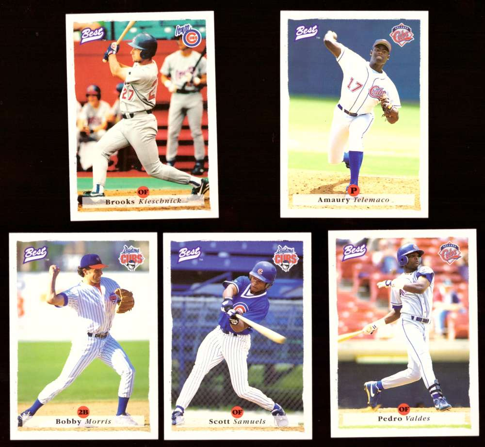 1995 Best Minors 1-100 - CHICAGO CUBS Team Set