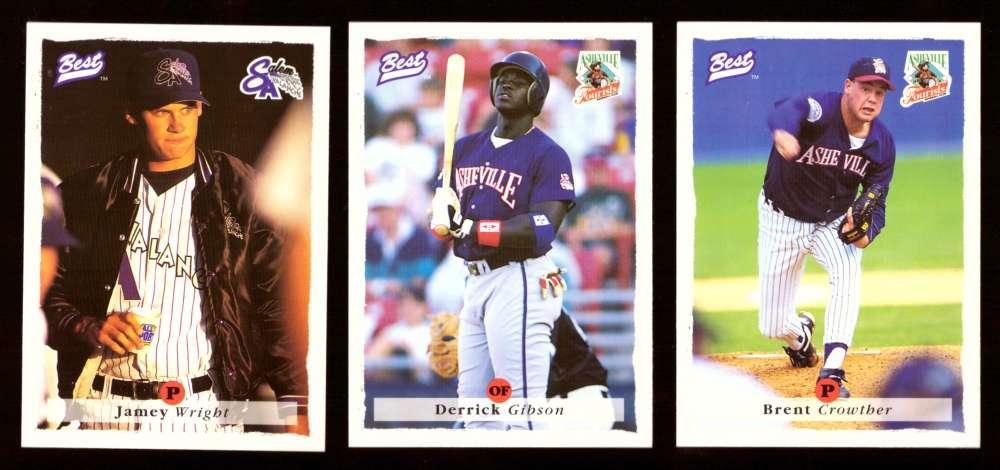 1995 Best Minors 1-100 - COLORADO ROCKIES Team Set