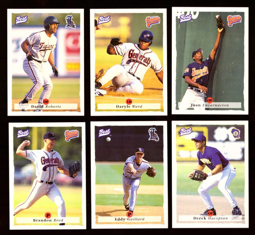 1995 Best Minors 1-100 - DETROIT TIGERS Team Set