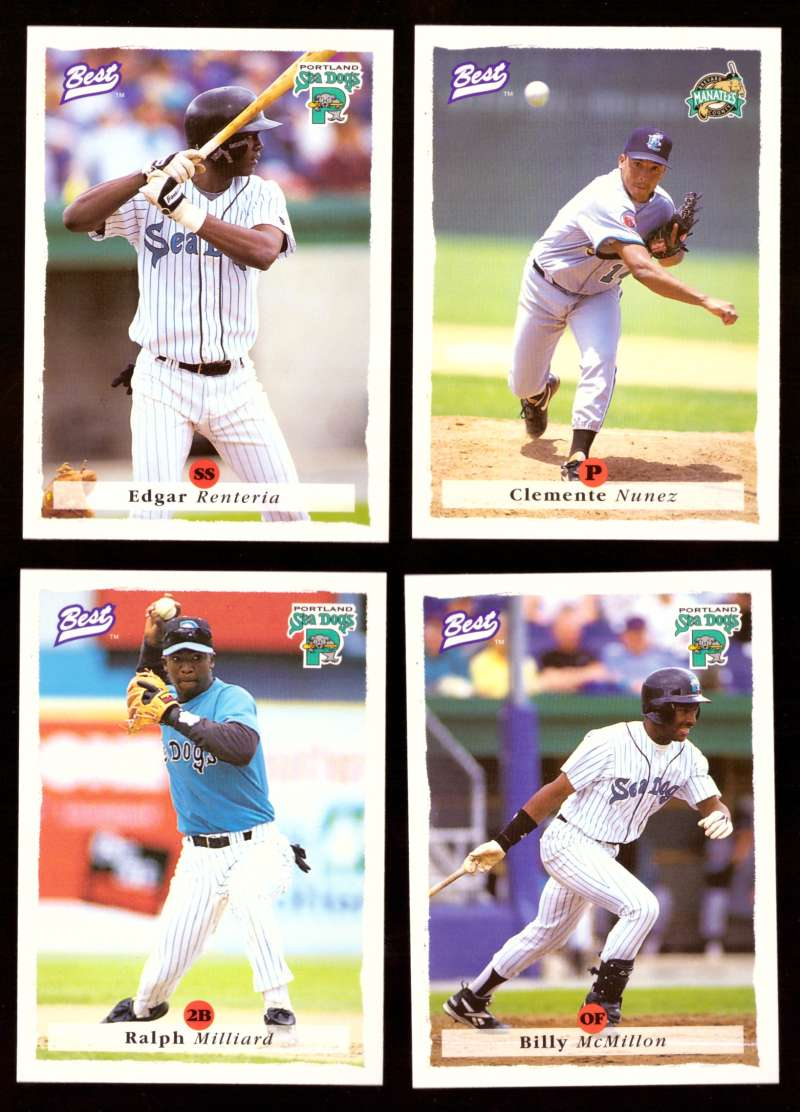 1995 Best Minors 1-100 - FLORIDA MARLINS Team Set