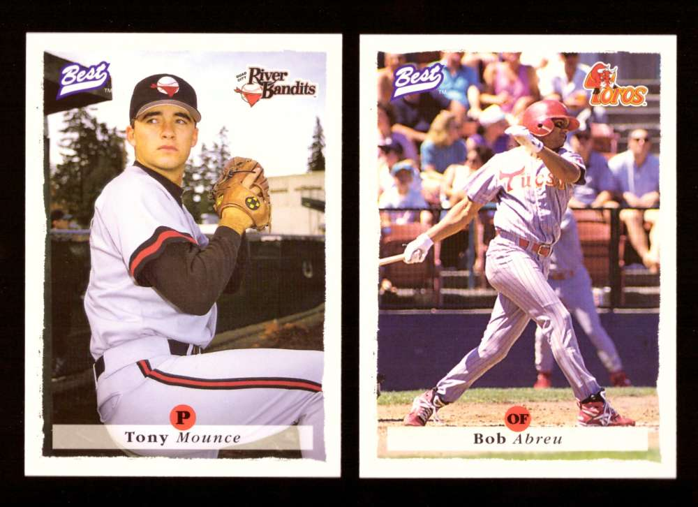 1995 Best Minors 1-100 - HOUSTON ASTROS Team Set