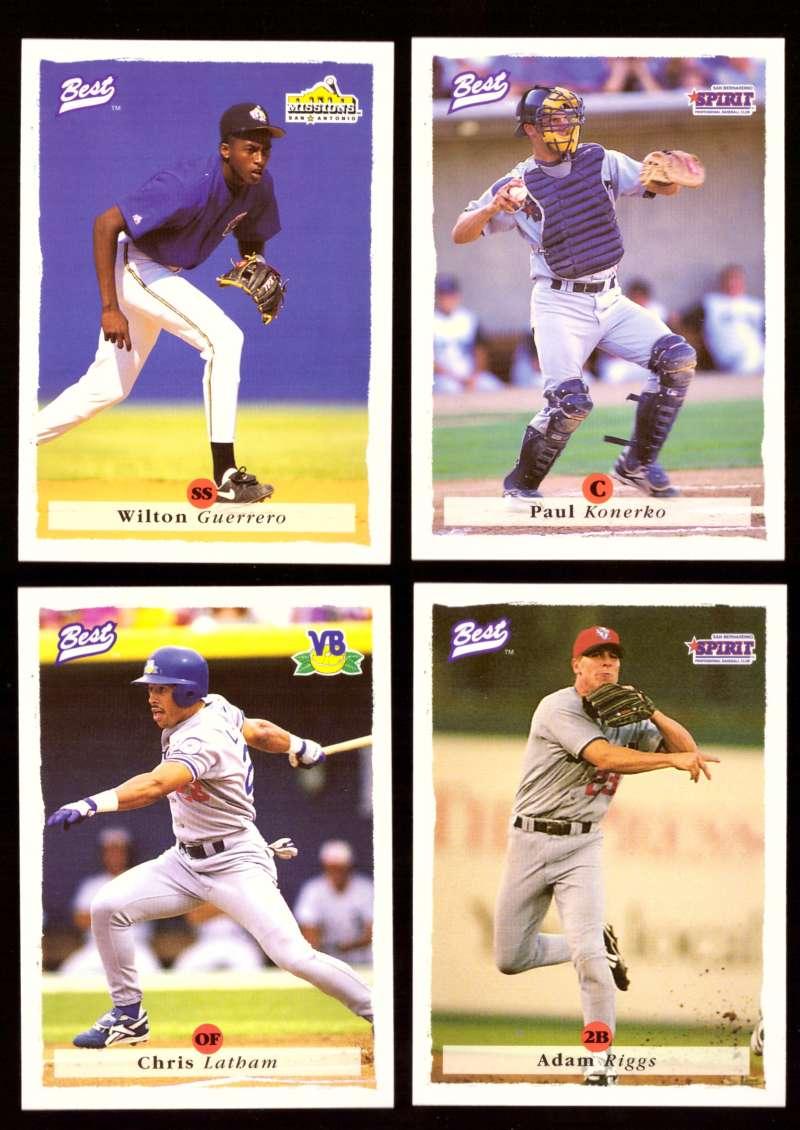 1995 Best Minors 1-100 - LOS ANGELES DODGERS Team Set