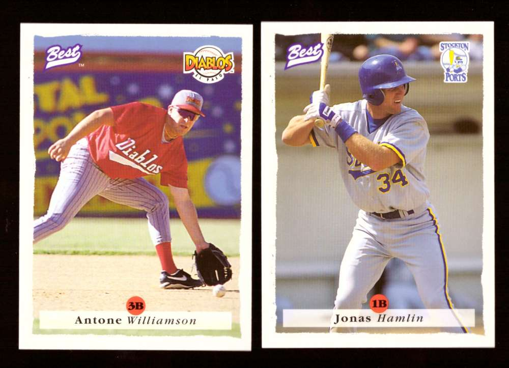 1995 Best Minors 1-100 - MILWAUKEE BREWERS Team Set