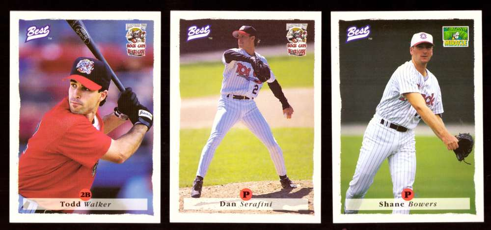 1995 Best Minors 1-100 - MINNESOTA TWINS Team Set