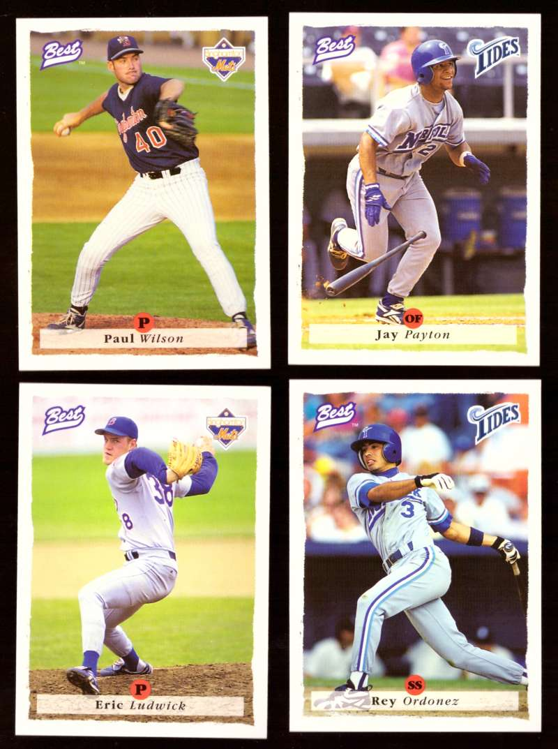 1995 Best Minors 1-100 - NEW YORK METS Team Set