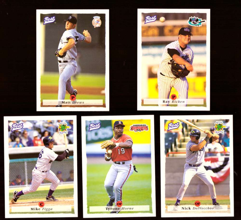 1995 Best Minors 1-100 - NEW YORK YANKEES Team Set