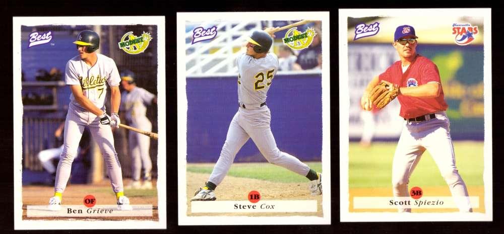 1995 Best Minors 1-100 - OAKLAND ATHLETICS / A'S Team Set