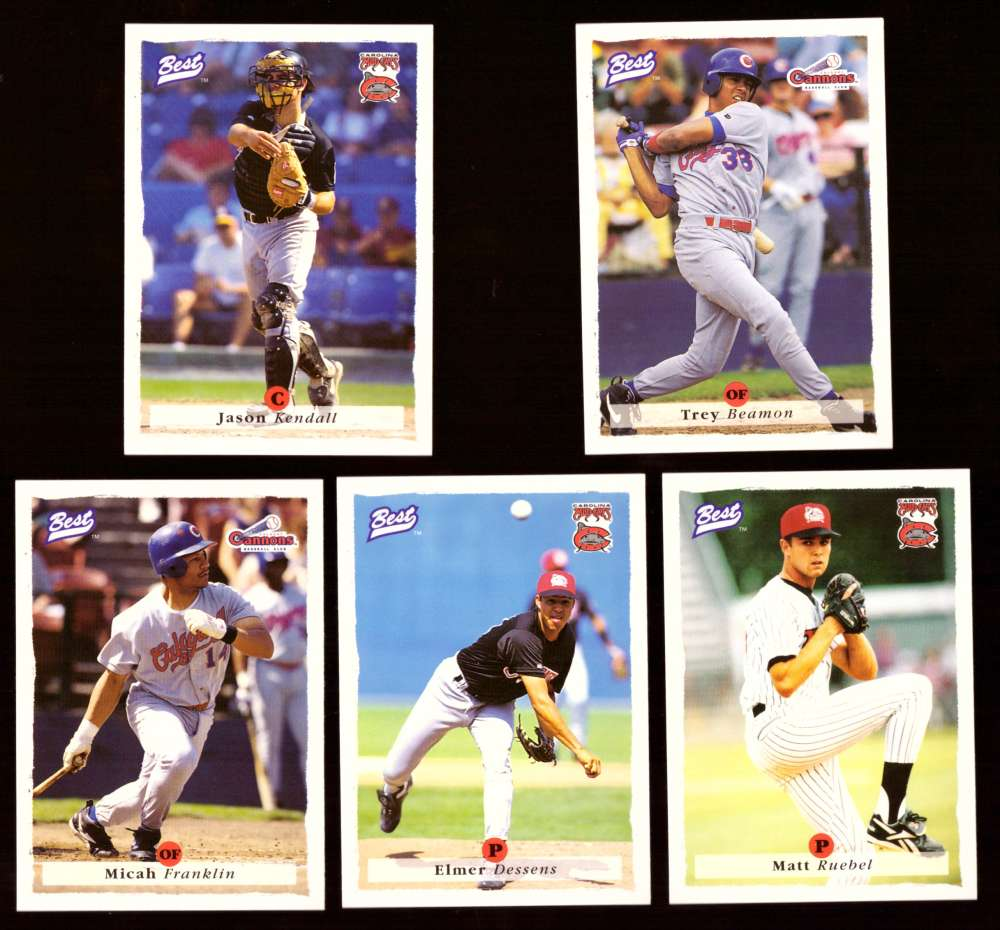 1995 Best Minors 1-100 - PITTSBURGH PIRATES Team Set