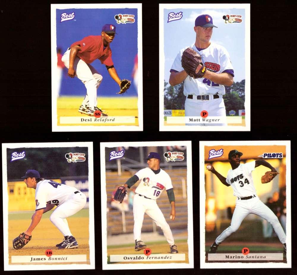 1995 Best Minors 1-100 - SEATTLE MARINERS Team Set