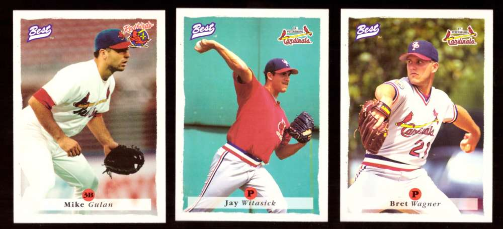 1995 Best Minors 1-100 - ST LOUIS CARDINALS Team Set