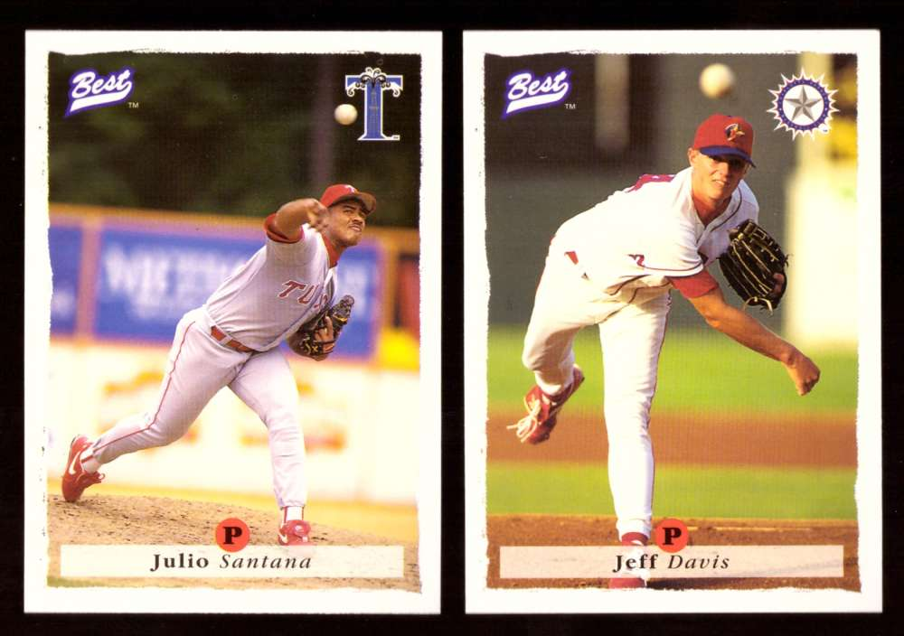 1995 Best Minors 1-100 - TEXAS RANGERS Team Set