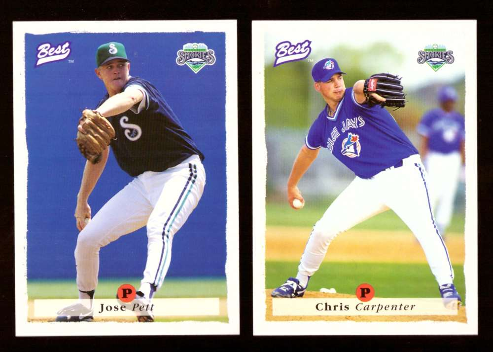 1995 Best Minors 1-100 - TORONTO BLUE JAYS Team Set