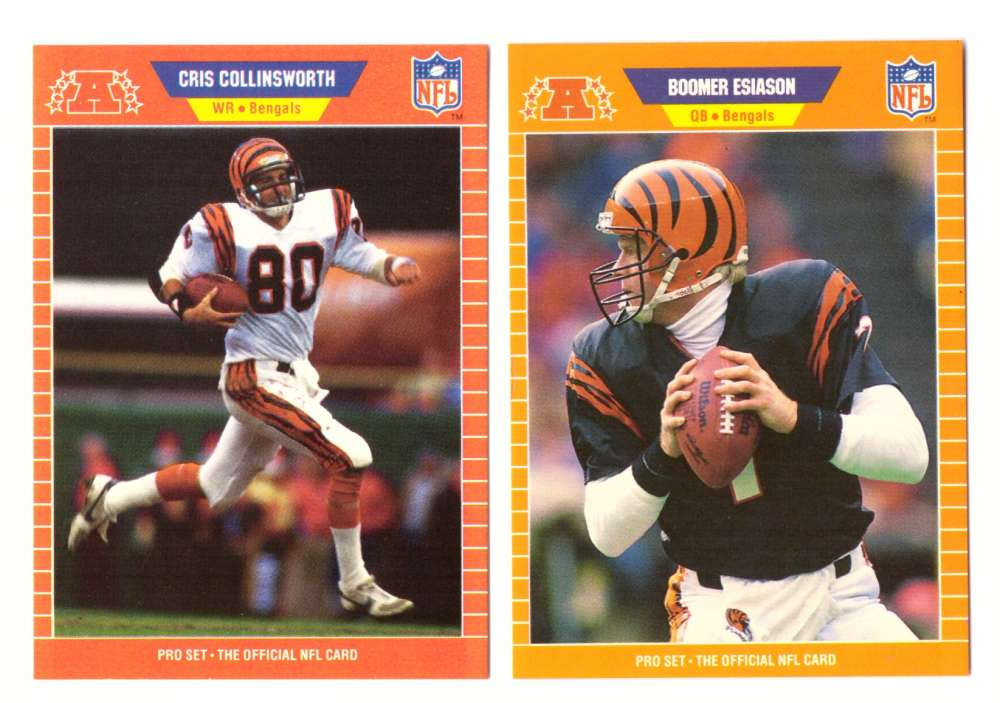 1989 Pro Set Football Team Set - CINCINNATI BENGALS